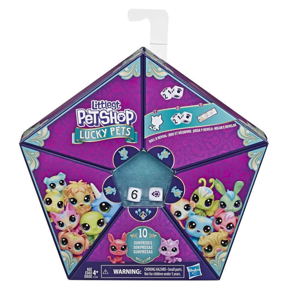 Littlest Pet Shop Şanslı Minişler Şans Ekibi 4'lü Sürpriz Paket