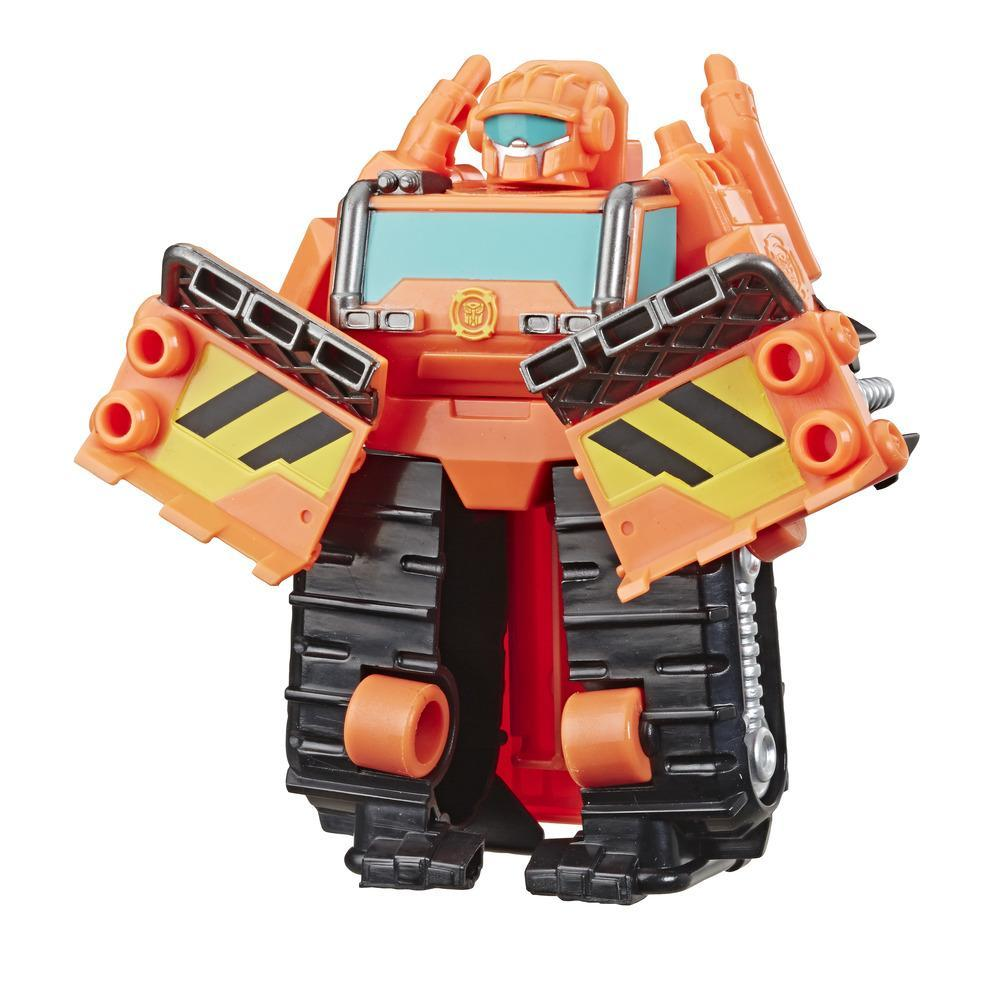 Transformers Rescue Bots Academy İnşa-Robot Wedge Figür