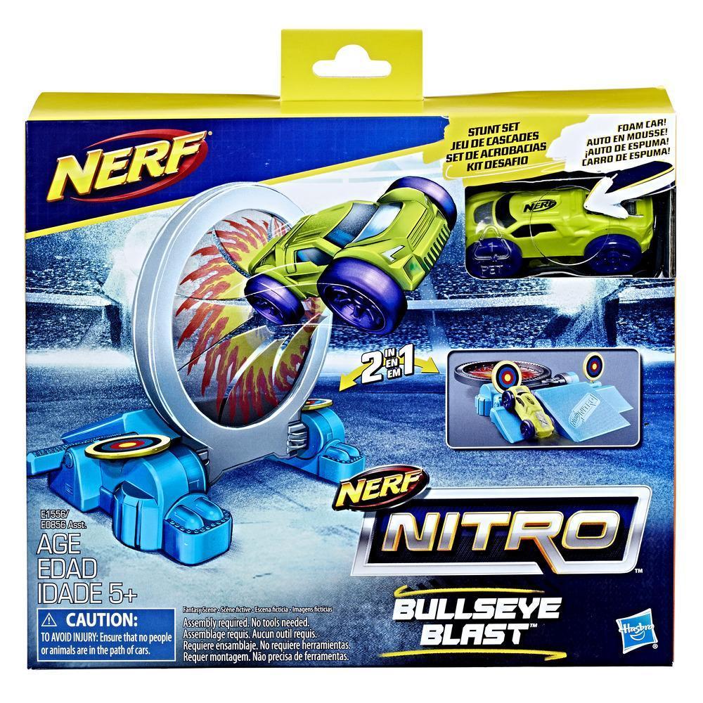 Nerf Nitro Engel ve Araç Seti - Bullseye Blast
