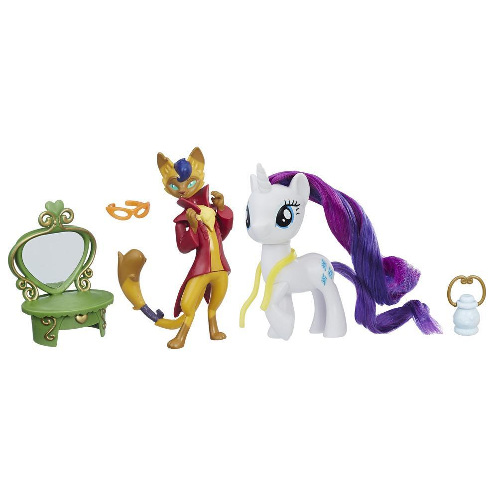 My Little Pony Arkadaşlık Seti - Rarity & Capper Dapperpaws