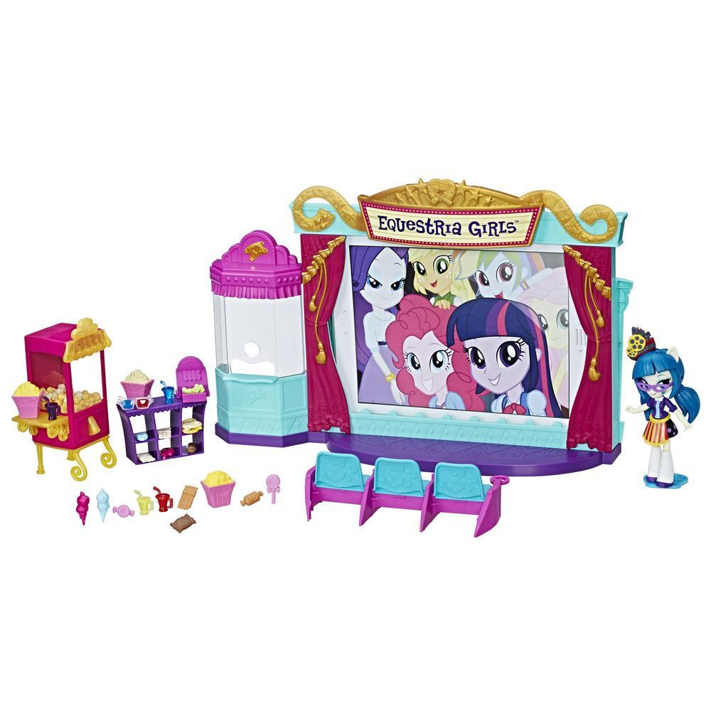 Equestria Girls Miniler Sinema Salonu