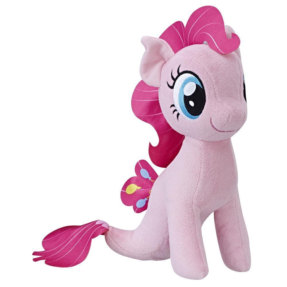 My Little Pony Süslü Saçlı Pony Peluş - Pinkie Pie Deniz Pony