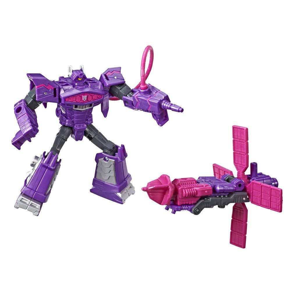 Transformers Cyberverse Spark Armor Battle Shockwave Figür