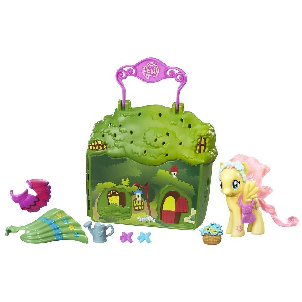 My Little Pony Oyun Çantası - Fluttershy'ın Kır Evi