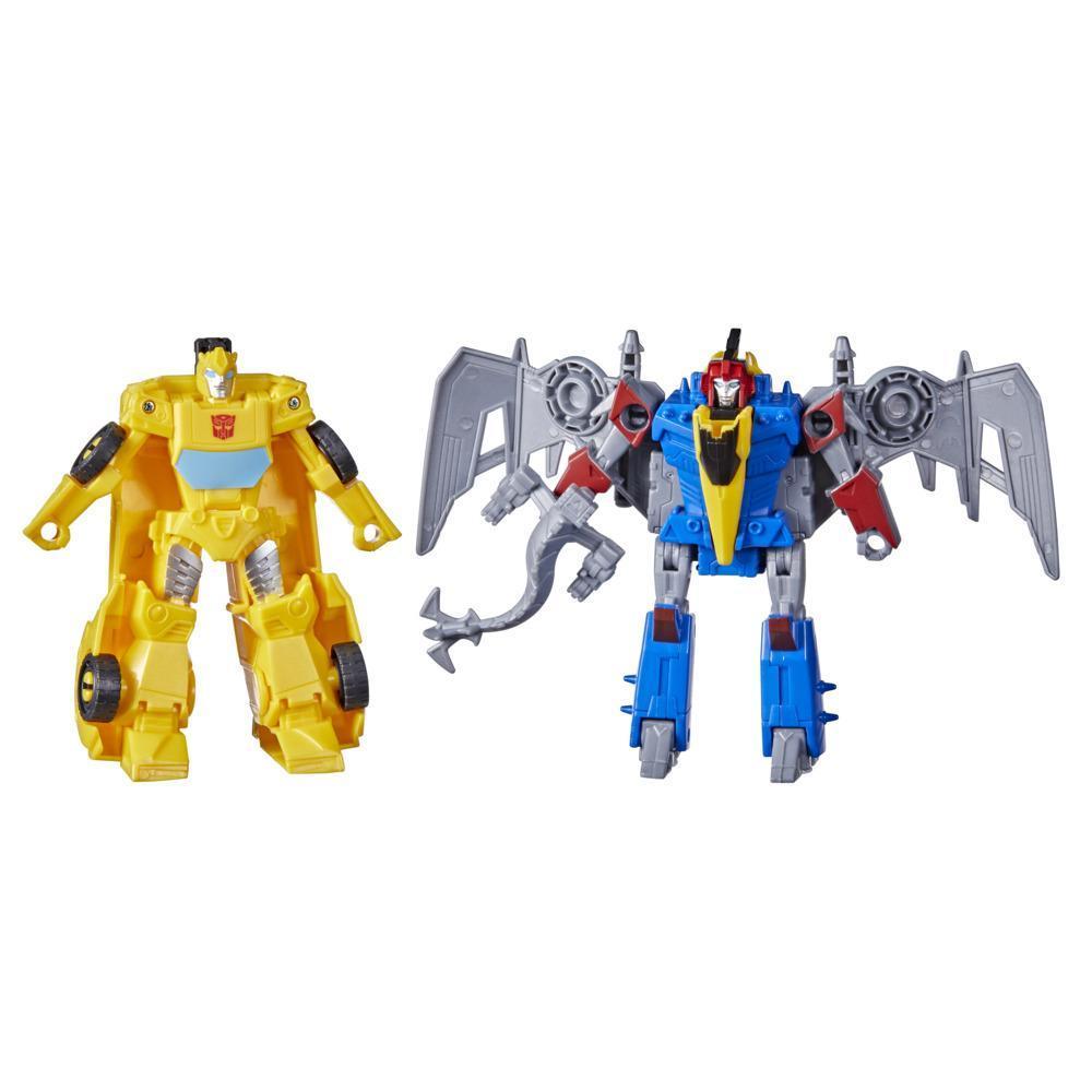 Transformers Bumblebee Cyberverse Maceraları Dino Combiners Bumbleswoop