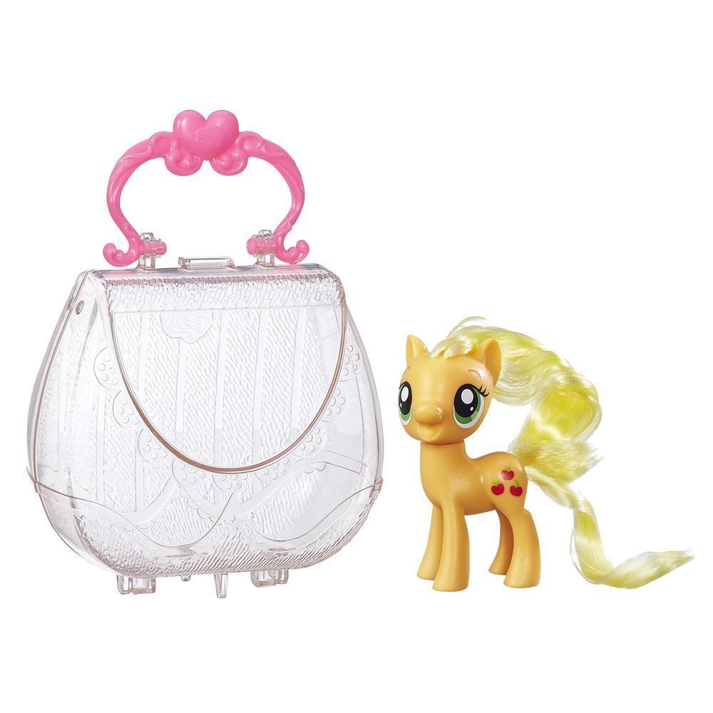 My Little Pony Çantalı Pony Figür - Applejack