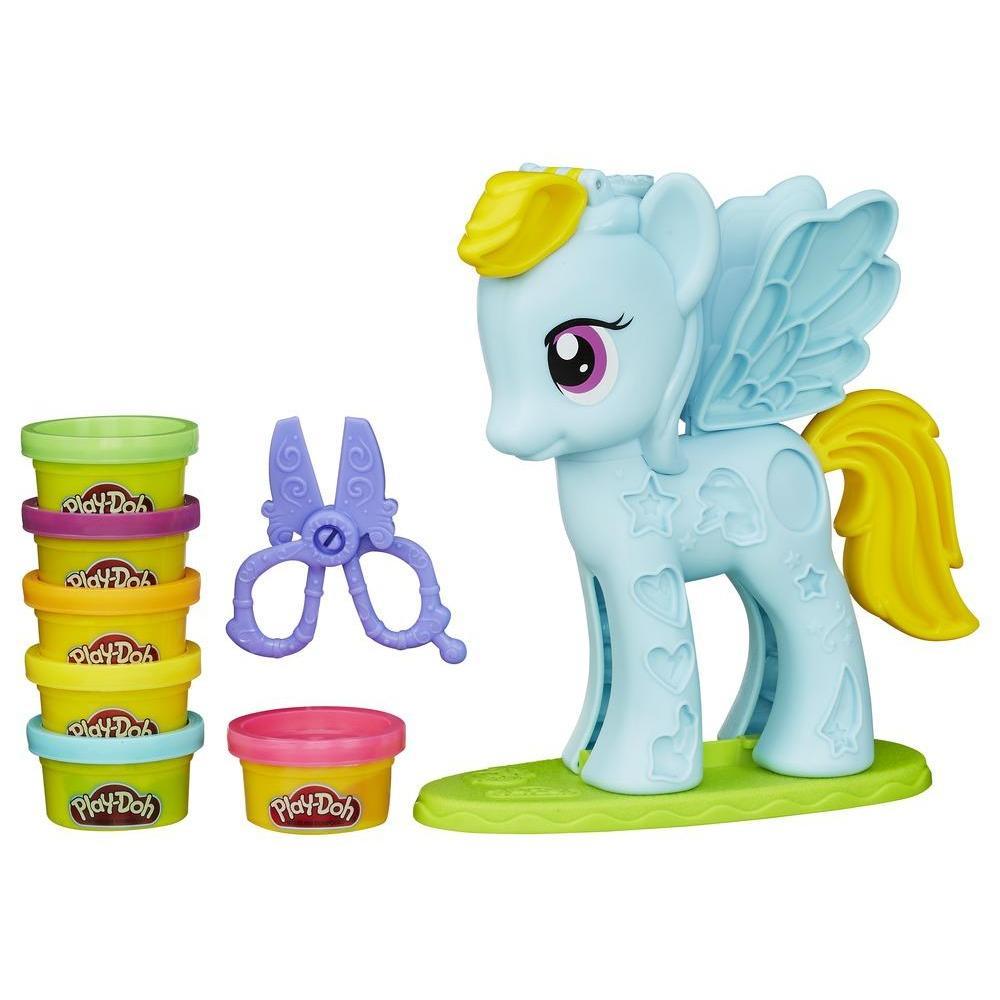 Play-Doh Rainbow Dash Saç Stüdyosu