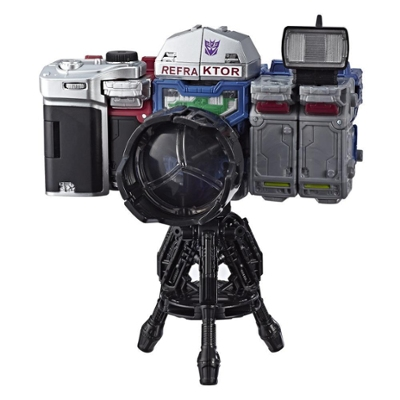 變形金剛 Generations 斯比頓之戰相機三兄弟偵察小隊 3 件裝,2019 HASCON 版本 - 合體成相機模式 - 適合年齡:8 歲及以上,5.5 吋 Product