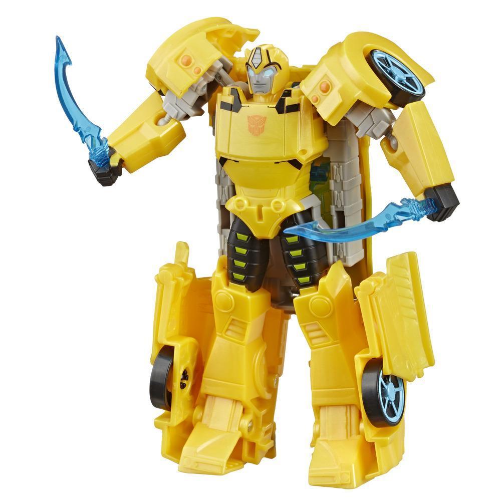 """變形金剛玩具斯比頓傳奇究極級別大黃蜂動作玩偶 - 與超能量盔甲組裝以升級 - 適合 6 歲及以上兒童,6.75"""""""