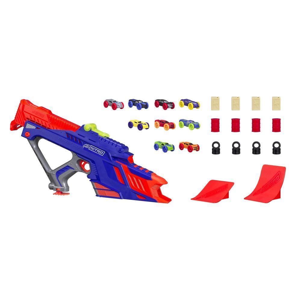 NERF炮彈飛車升級儲車槽
