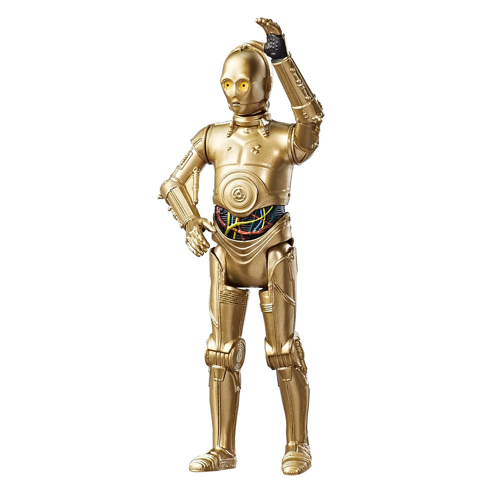 星際大戰電影8 3.75吋基本人物組 C-3PO