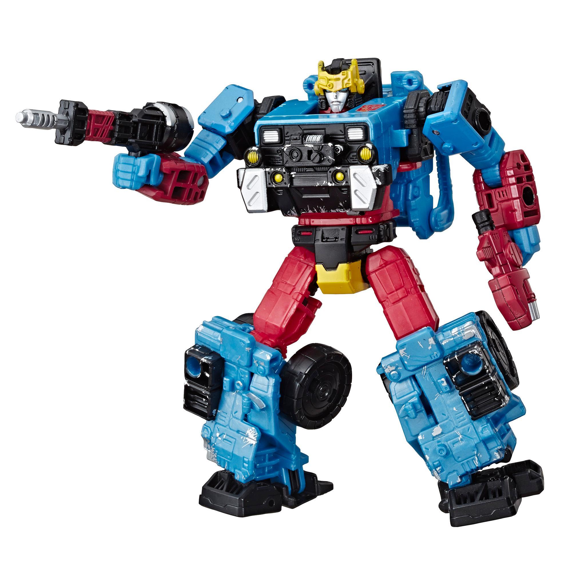 變形金剛世代系列精選 WFC-GS09 激射,賽博坦之戰豪華級玩偶 - 收藏家玩偶,5.5 吋