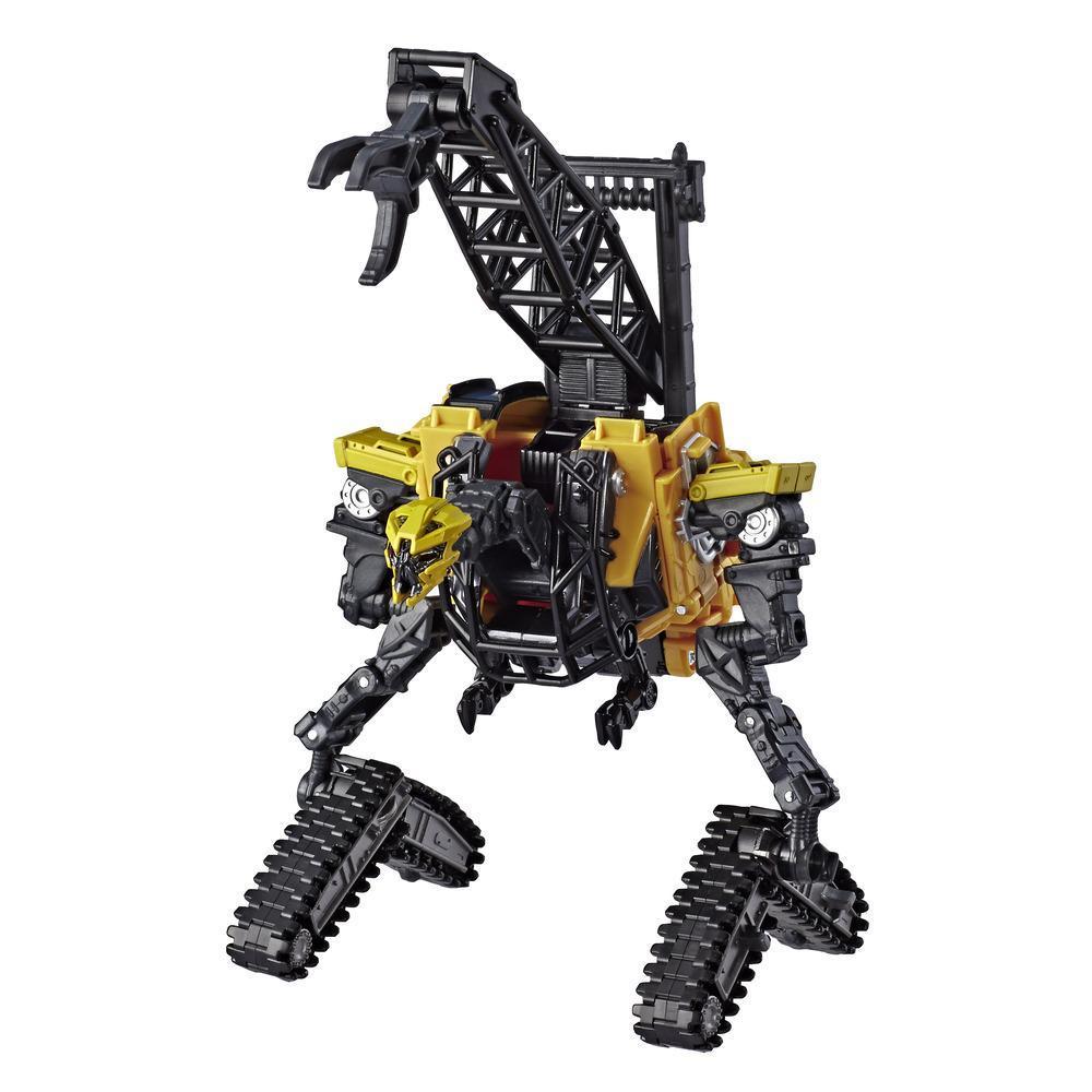變形金剛玩具電影系列豪華級變形金剛47:復仇之戰電影工程金剛高塔動作人偶 - 適合 8 歲及以上兒童,4.5吋
