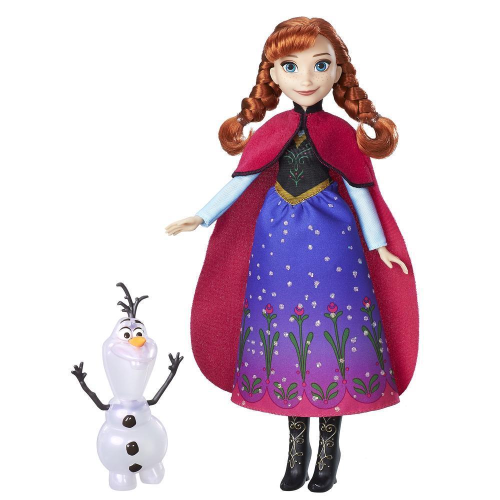 冰雪奇緣安娜與雪寶