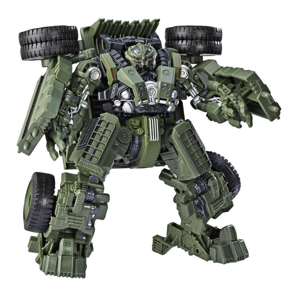 變形金剛玩具電影版巡戈戰將42變形金剛: 復仇之戰電影工程金剛砂石車動作人偶 - 適合年齡 8 歲及以上,6.5 吋