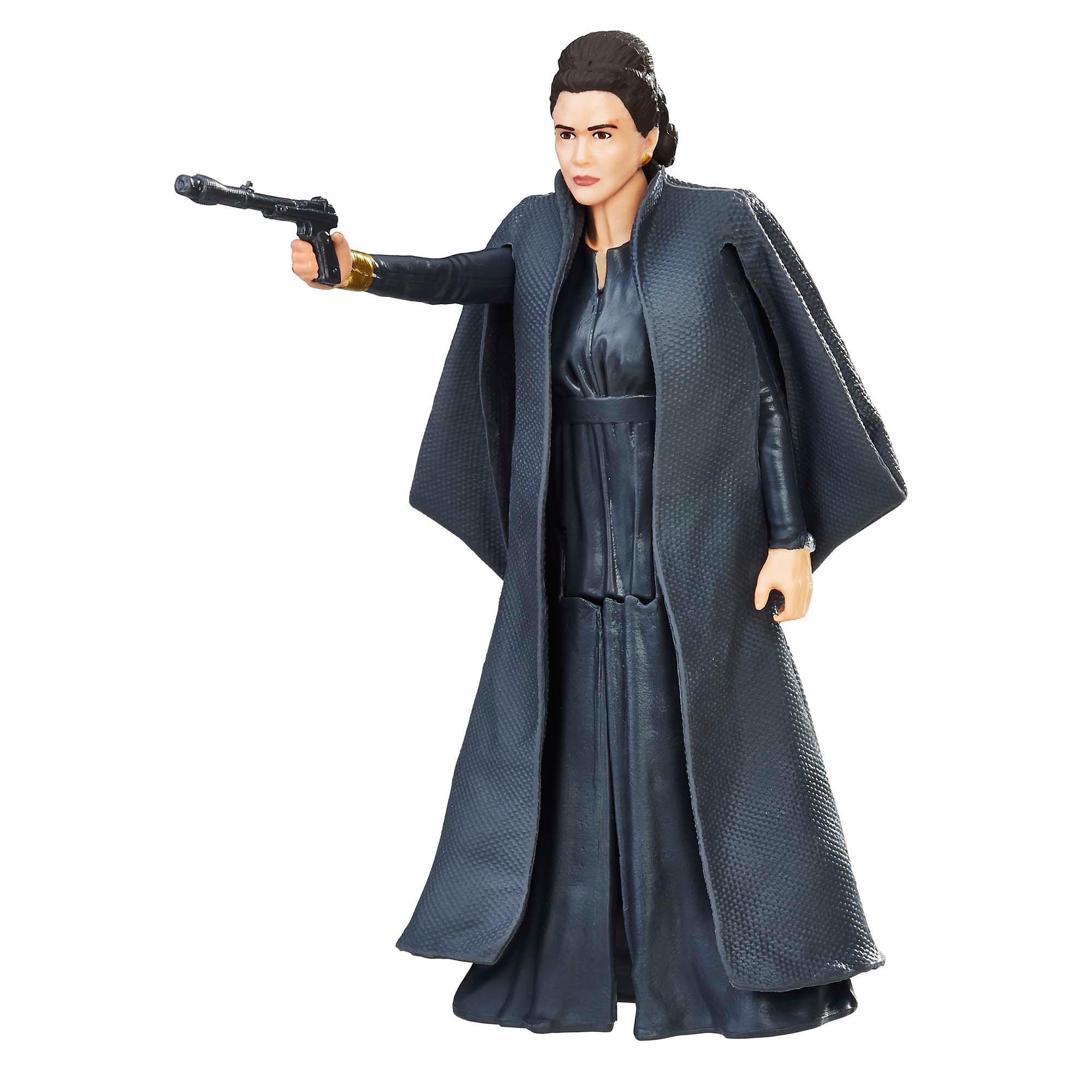 星際大戰電影8 3.75吋基本人物組 General Leia Organa