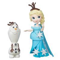 冰雪奇緣迷你公主及朋友組-艾莎與雪寶