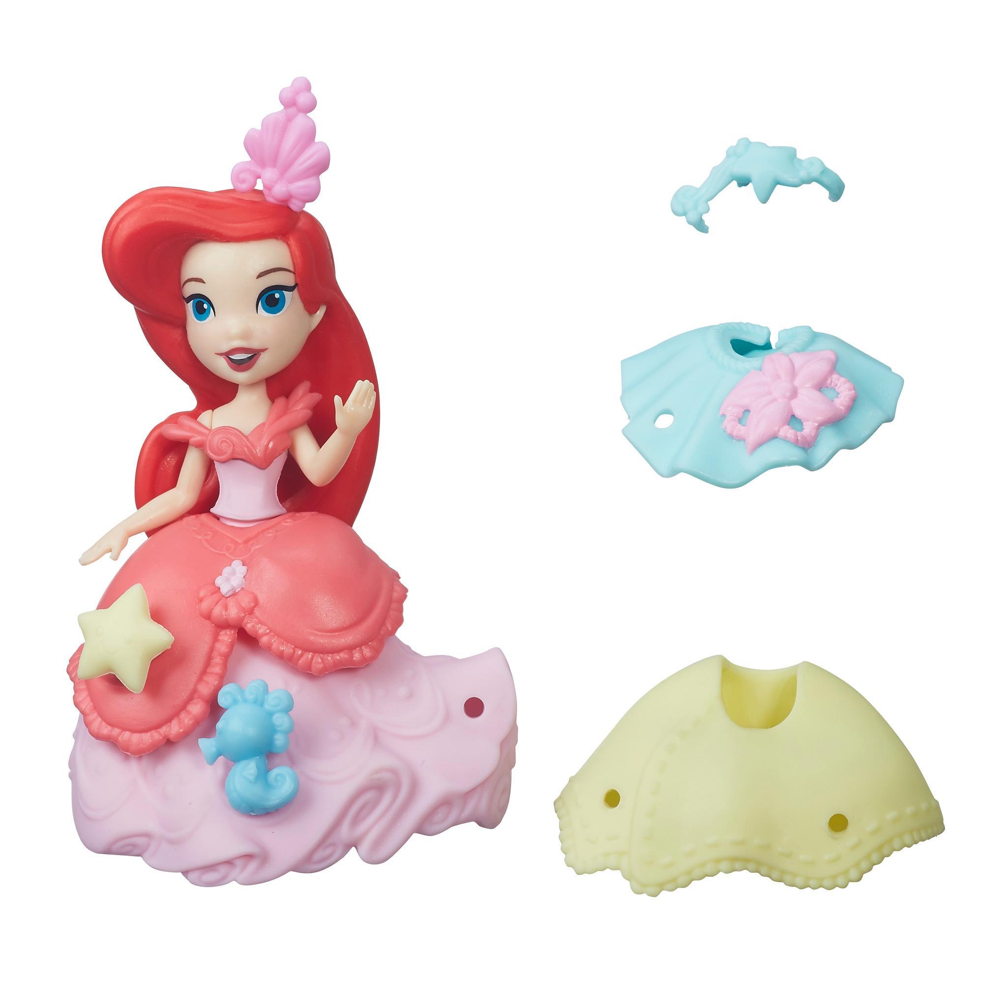迪士尼迷你公主人物配件組-小美人魚艾莉兒