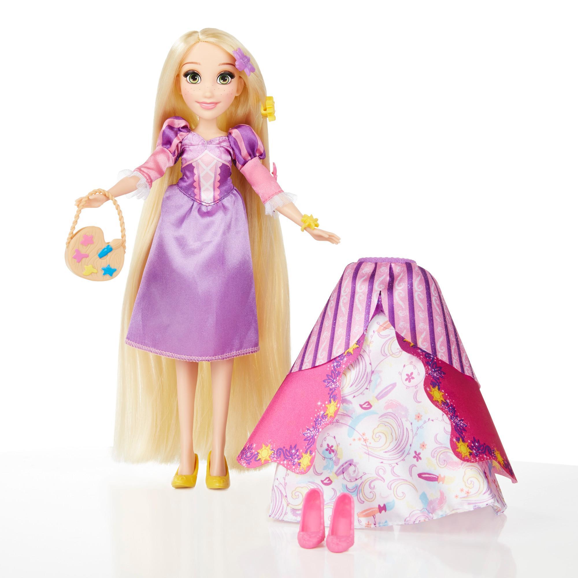 迪士尼公主換裝遊戲組-長髮公主樂佩