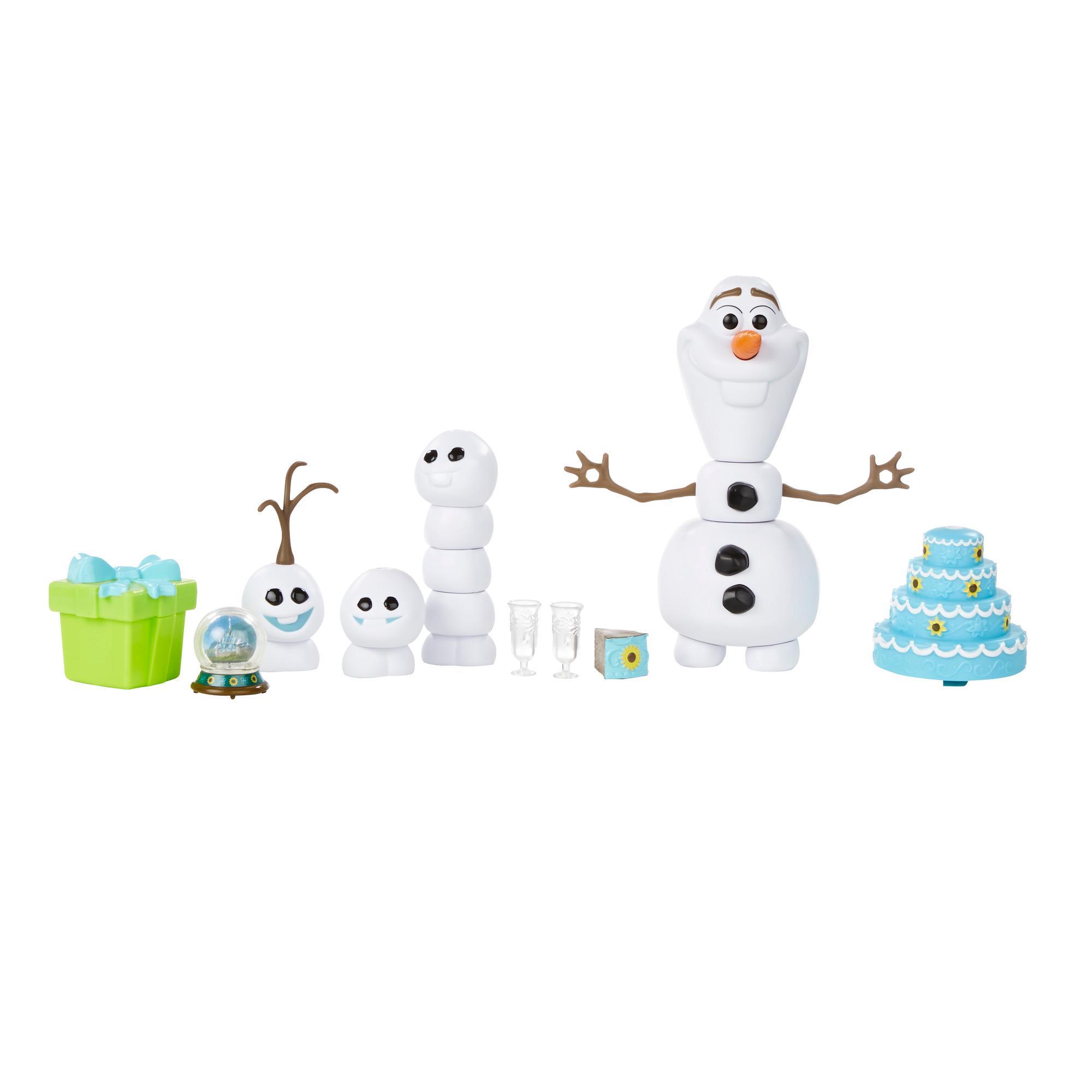 冰雪奇緣驚喜連連雪寶人物組