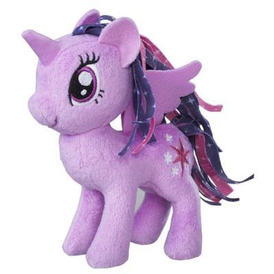 彩虹小馬5吋絨毛角色-紫悅公主