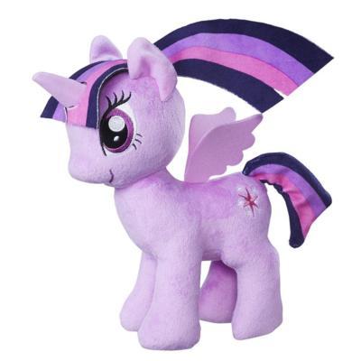 彩虹小馬9吋絨毛角色-紫悅公主