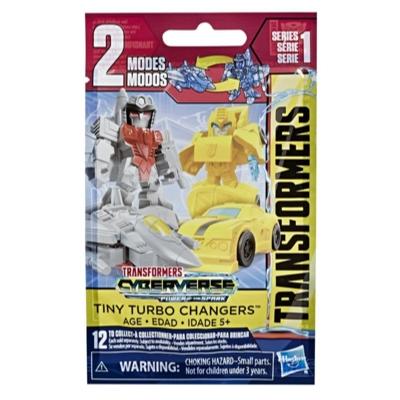 變形金剛玩具賽博斯宇宙迷你快變戰將系列 1 神秘包動作人偶 - 適合年齡 5 歲及以上之孩童,1.5吋 Product