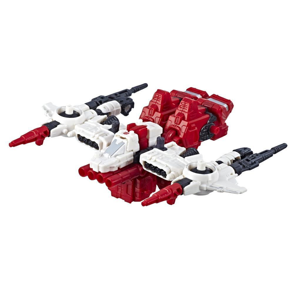 變形金剛玩具世代系列賽博坦之戰豪華 WFC-S22 博派猛攻火力升級動作人偶 - 圍城之章 - 成人和 8 歲及以上兒童,5.5 吋