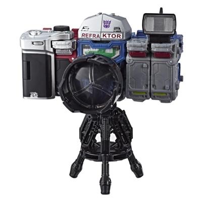 變形金剛玩具世代系列賽博坦之戰反射器偵查隊 3 入裝 (2019 年 HASCON 展出設計) - 合組成照相機模式 - 適合年齡 8 歲及以上,5.5吋 Product