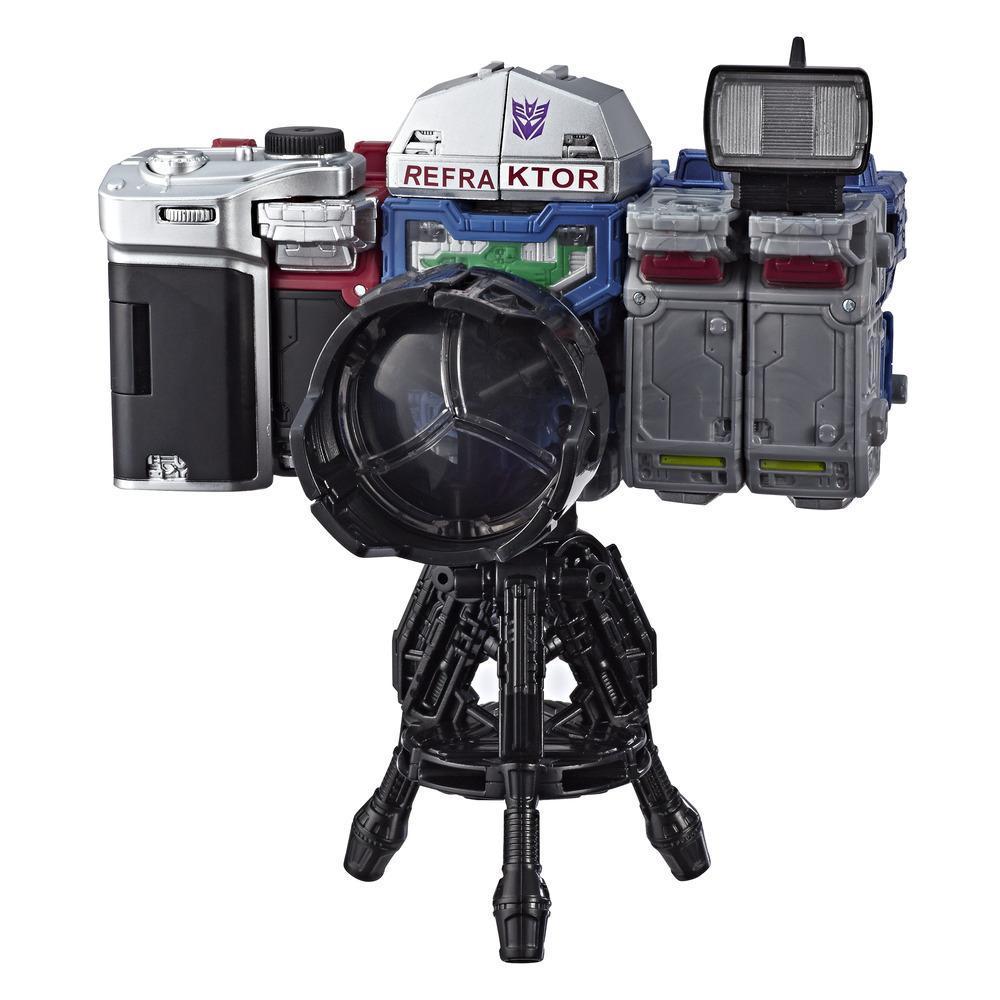 變形金剛玩具世代系列賽博坦之戰反射器偵查隊 3 入裝 (2019 年 HASCON 展出設計) - 合組成照相機模式 - 適合年齡 8 歲及以上,5.5吋