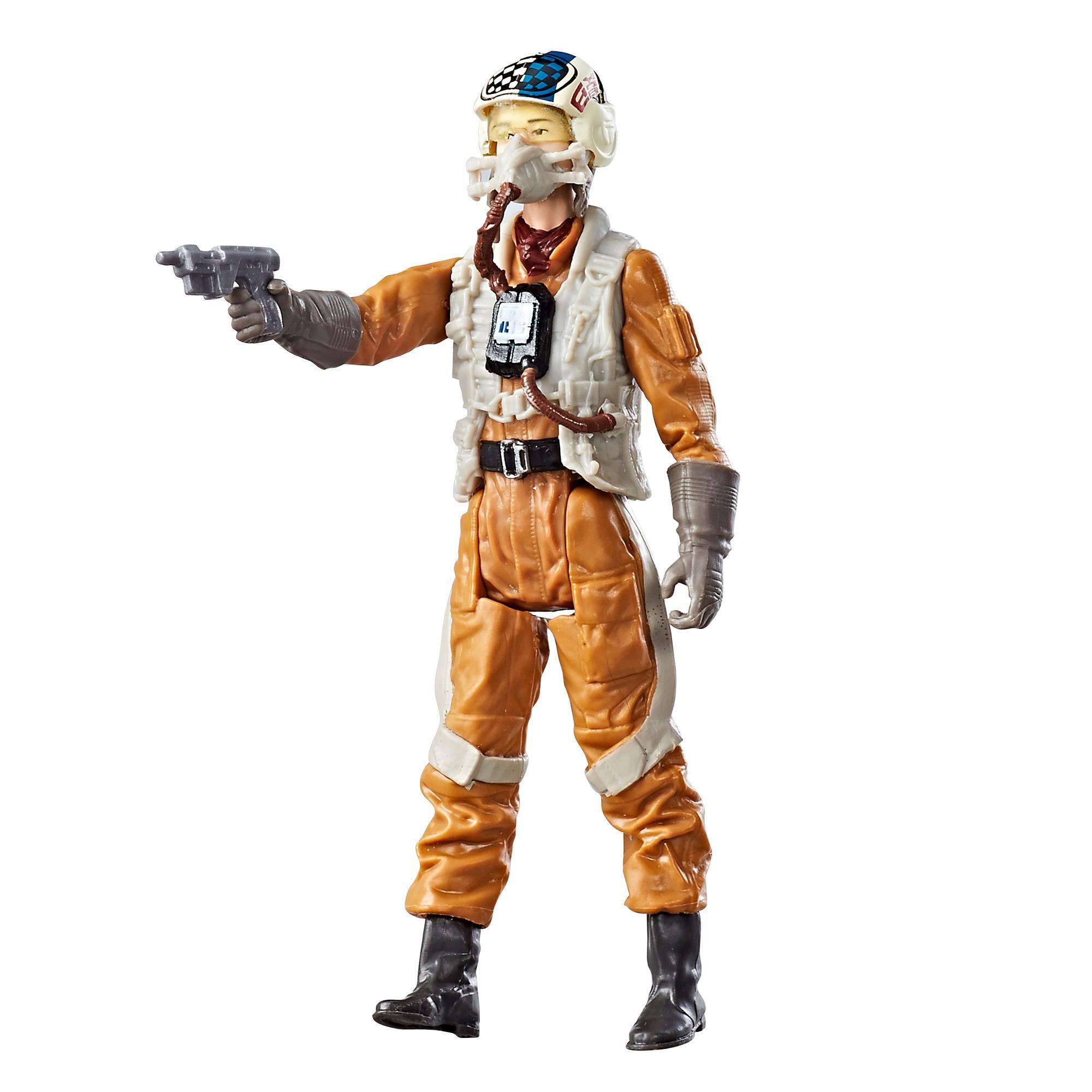 星際大戰電影8 3.75吋基本人物組Resistance Gunner Paige