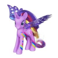 彩虹小馬第四季 豪華組彩翼小馬─紫悅公主