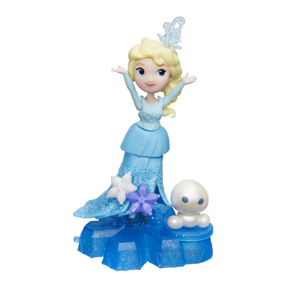 冰雪奇緣迷你公主小雪人旋轉組-艾莎