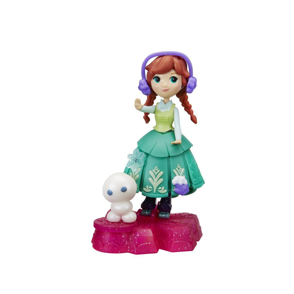 冰雪奇緣迷你公主小雪人旋轉組-安娜