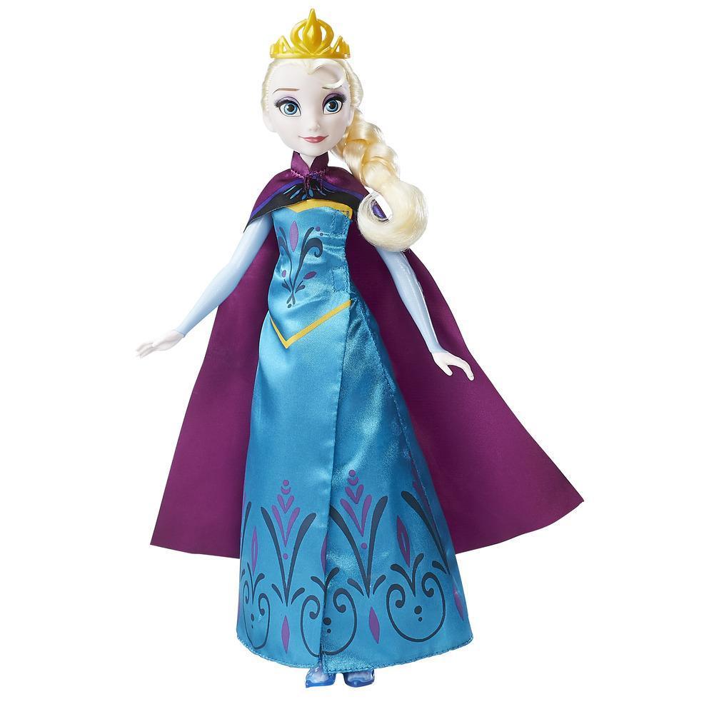 冰雪奇緣艾莎加冕換裝組